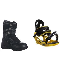 Lamar Justice Boots w/ M3 Pivot Rockstar Bindings