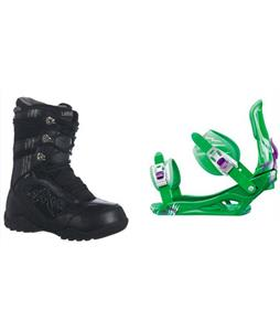 Lamar Justice Boots w/ Rossignol Battle Bindings