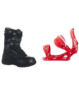 Lamar Justice Boots w/ Rossignol Cage Bindings