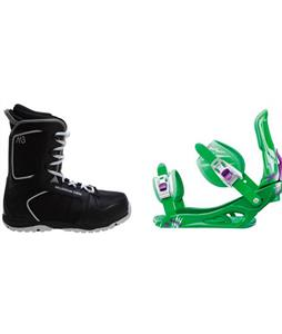 M3 Militia 4 Boots w/ Rossignol Battle Bindings