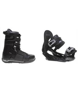 Morrow Reign Boots w/ Avalanche Summit Bindings