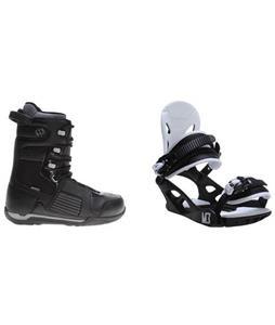 Morrow Reign Boots w/ M3 Helix 3 Bindings