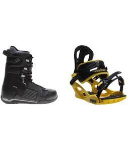 Morrow Reign Boots w/ M3 Pivot Rockstar Bindings