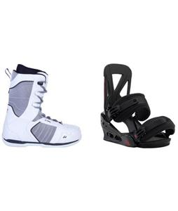 Ride Orion Boots w/ Burton Custom Re:Flex Bindings