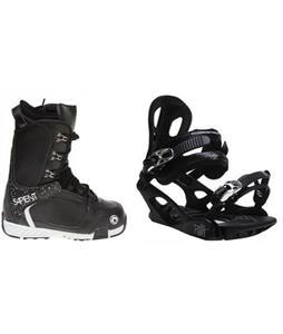 Sapient Yeti Boots w/ M3 Pivot 4 Bindings
