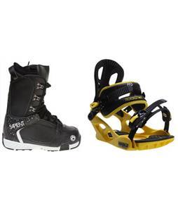 Sapient Yeti Boots w/ M3 Pivot Rockstar Bindings