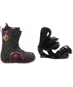 Burton Bootique Boots w/ Roxy Classic Bindings