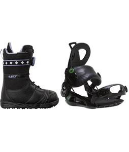 Burton Chloe Boots w/ Roxy Rock-It Blast Bindings