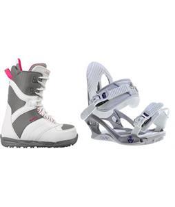Burton Coco Boots w/ K2 Charm Bindings