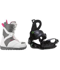 Burton Coco Boots w/ Roxy Rock-It Blast Bindings