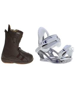Burton Iroc Boots w/ K2 Charm Bindings