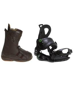 Burton Iroc Boots w/ Roxy Rock-It Blast Bindings
