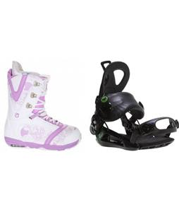 Burton Lodi Boots w/ Roxy Rock-It Blast Bindings