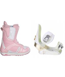 Burton Mint Boots w/ Morrow Lotus Bindings