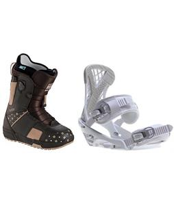 Burton Mint Boots w/ Sapient Zeta Bindings