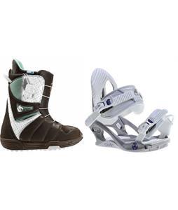 Burton Mint Boots w/ K2 Charm Bindings