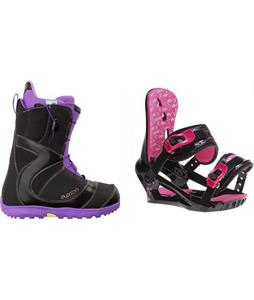 Burton Mint Boots w/ Morrow Sky Bindings