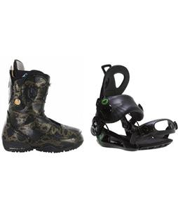 Burton Modern Boots w/ Roxy Rock-It Blast Bindings