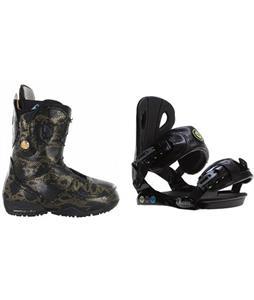 Burton Modern Boots w/ Roxy Classic Bindings