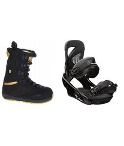 Burton Sapphire Boots w/ Lexa Bindings