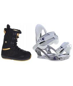 Burton Sapphire Boots w/ K2 Charm Bindings