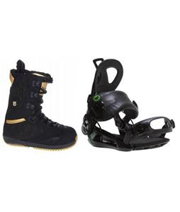 Burton Sapphire Boots w/ Roxy Rock-It Blast Bindings