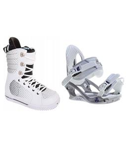 Burton Tryst Boots w/ K2 Charm Bindings