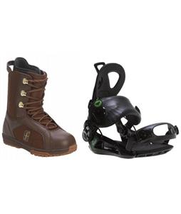 Forum Aura Boots w/ Roxy Rock-It Blast Bindings