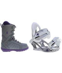 Forum Bebop Boots w/ K2 Charm Bindings