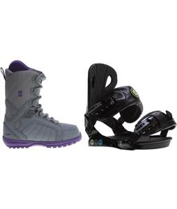 Forum Bebop Boots w/ Roxy Classic Bindings