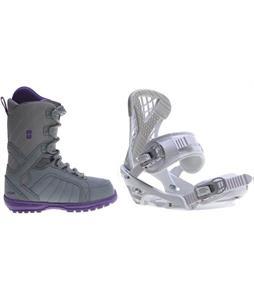 Forum Bebop Boots w/ Sapient Zeta Bindings