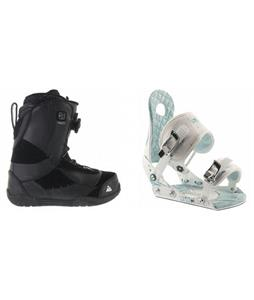 K2 Haven BOA Coiler Boots w/ Ride LXH Bindings