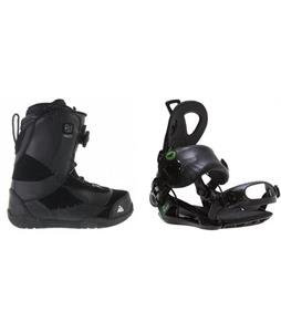 K2 Haven BOA Coiler Boots w/ Roxy Rock-It Blast Bindings