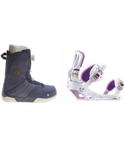 K2 Sendit Boots w/ Rossignol Myth Bindings