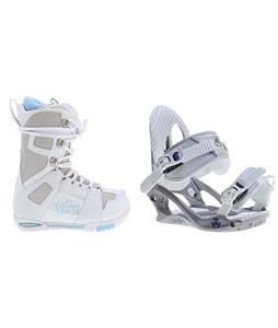 M3 White Boots w/ Charm Bindings