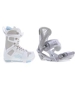 M3 White Boots w/ Sapient Zeta Bindings