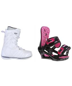 Ride Donna Boots w/ Morrow Sky Bindings