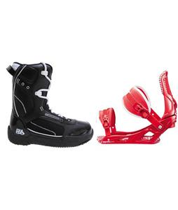5150 Brigade Boots w/ Rossignol Cage Bindings