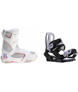 5150 Starlet Boots w/ Sapient Zeus Jr Bindings