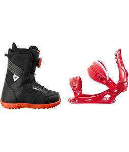 Burton Zipline Boots w/ Rossignol Cage Bindings
