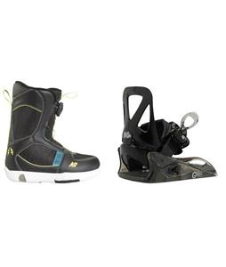 K2 Mini Turbo Boots w/ Burton Grom Bindings