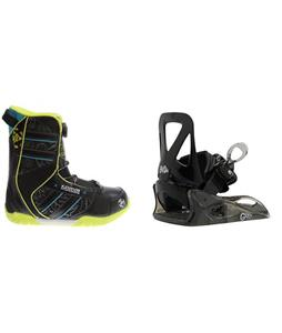 K2 Vandal BOA Boots w/ Burton Grom Bindings