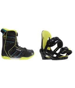 K2 Vandal BOA Boots w/ Morrow Axiom Jr Bindings