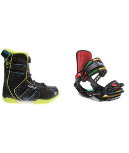 K2 Vandal BOA Boots w/ Rossignol Rookie Bindings