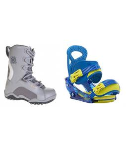 Lamar Force Boots w/ Burton Mission Smalls Bindings