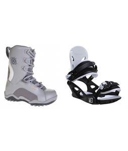Lamar Force Boots w/ M3 Helix 3 Bindings