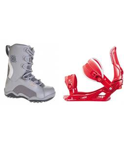 Lamar Force Boots w/ Rossignol Cage Bindings