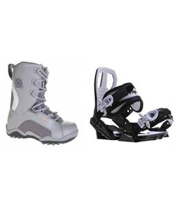 Lamar Force Boots w/ Sapient Zeus Jr Bindings