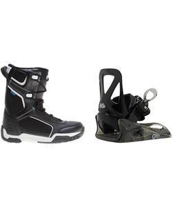 Morrow Slick Boots w/ Burton Grom Bindings