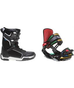 Morrow Slick Boots w/ Rossignol Rookie Bindings